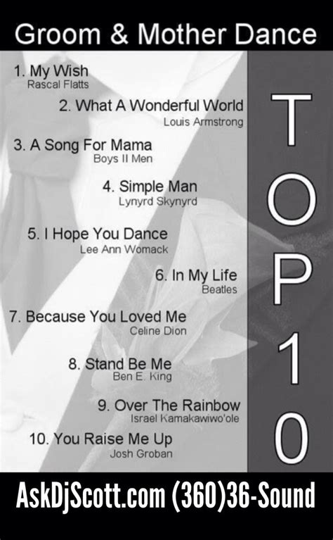 Wedding List Songs For The Dj by Pin By Nancy On Weddings