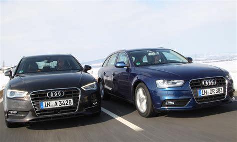 Autoversicherung Audi A4 by Konzept Vergleich Audi A3 Sportback Gegen Audi A4 Avant