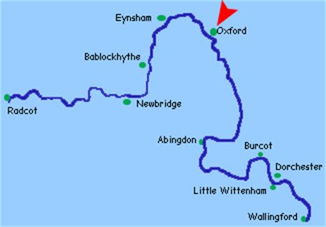 river thames map oxford river thames