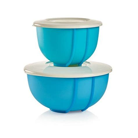 Stak N Stor Set Tupperware mix n stor 2 pc set a baker s best friend removable centers for mess free mixing includes