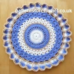 printable crochet instructions uk free crochet pattern round doily uk