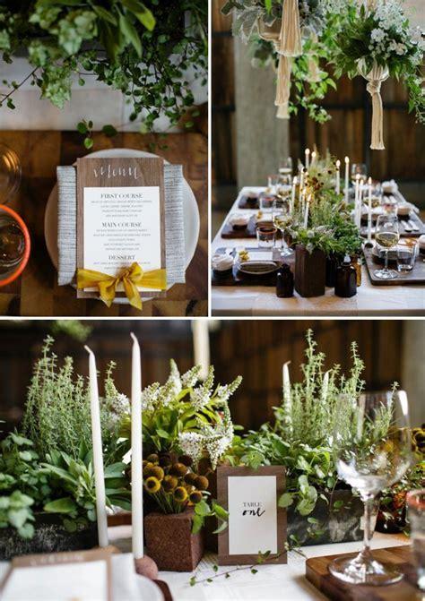 HEY LOOK: ECO FRIENDLY WEDDING INSPIRATION   wedding table