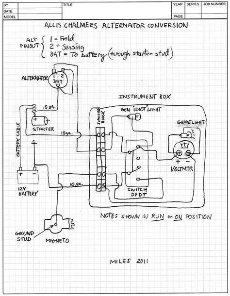 wiring diagram for allis chalmers c tractor get free