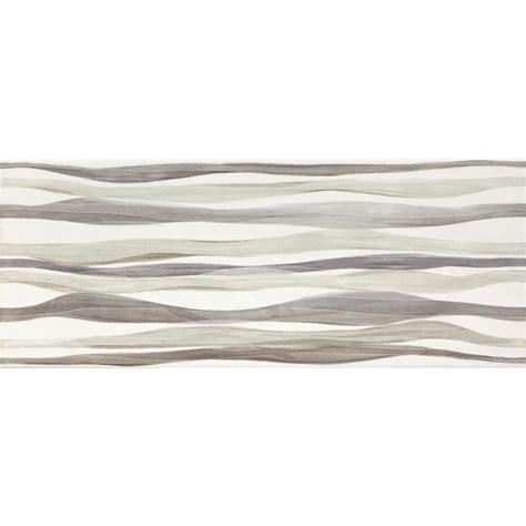 fliese welle shop conca waves multi ceramic wall tile common 8 in