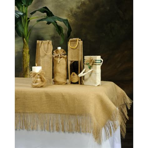 108 tablecloth on 60 table browse fringe burlap tablecloths and overlays 60 x 108 inch