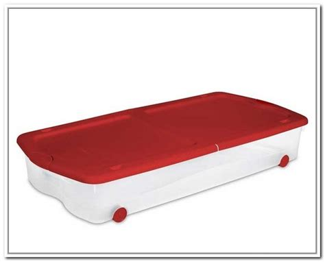 under bed storage bins underbed storage bins best storage ideas