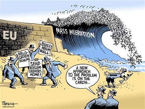 political cartoons syrian refugees eu migration crisis 169 paresh nath the khaleej times uae