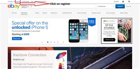 ebay register ebay registration how to register on ebay easily