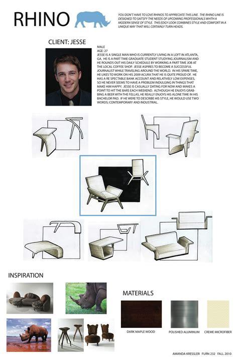 furniture layout presentation rendering and presentation for furniture design