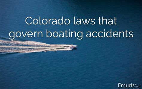 boating accident in colorado maritime boating accidents in colorado