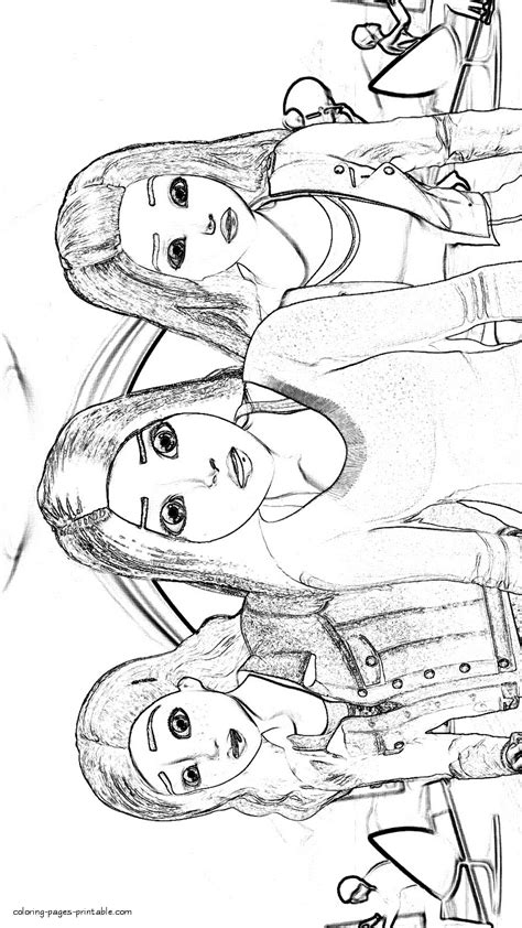 coloring pages barbie spy squad barbie teresa and renee coloring pages