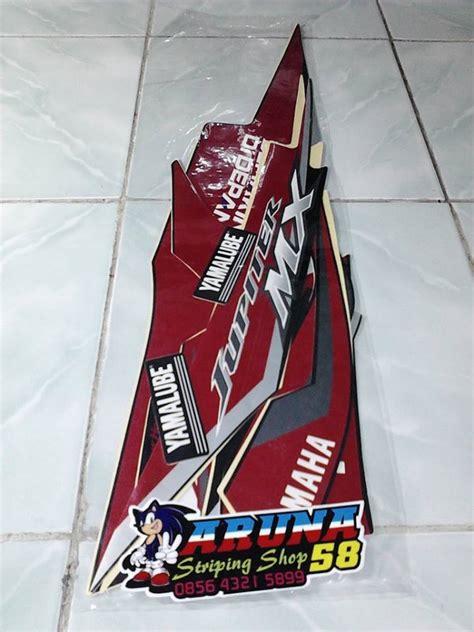 Motor Yamaha Jupiter 2008 Mx Stiker Lis Striping Strippin jual striping sticker motor jupiter mx 2012 moto gp series