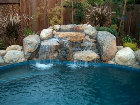 waterfalls for inground pools inground swimming pool waterfalls bing images pool
