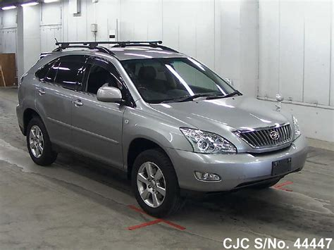 toyota harrier sale 2007 toyota harrier gray for sale stock no 44447