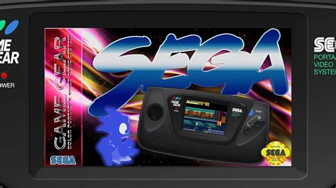 game gear light mod sega game gear v1 led mod big box cinematix youtube