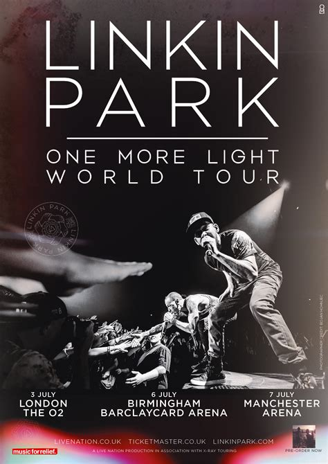 one more light tour linkin park announce uk shows for july radio x