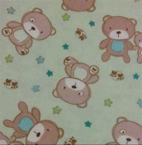 teddy bear upholstery snuggle flannel fabric teddy bear green jo ann