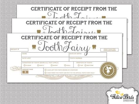 Certificate Lost Letter 1000 Ideas About Tooth Receipt On Tooth Letters Tooth
