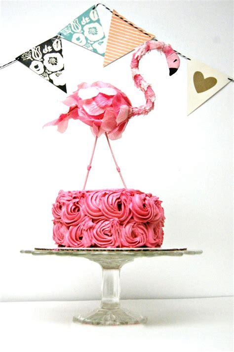 diy cake decorations flamingo cake topper the