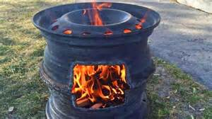 Creative Upcycling Ideas - old tire rims make for the best diy fire pits diy joy
