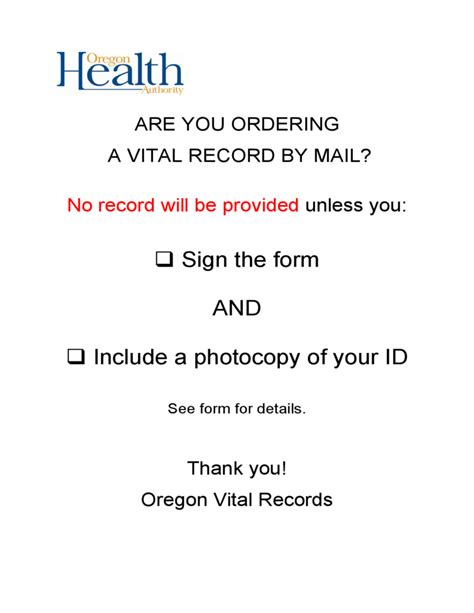 Birth Records Oregon Free Birth Record Order Form Oregon Free