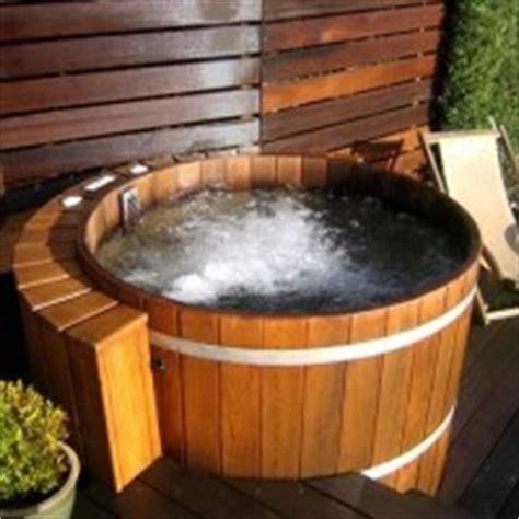 vasche in legno vasche idromassaggio da esterno