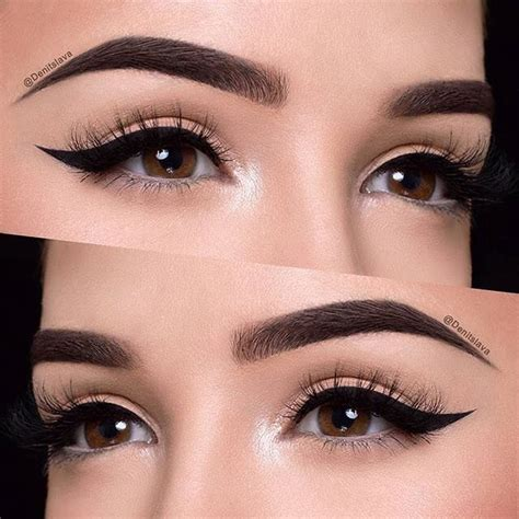 winged eyeliner tattoo 25 best ideas about black eyeliner makeup on