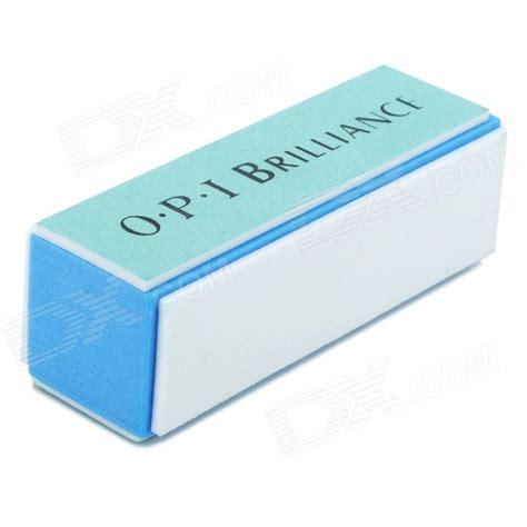 Nail Buffer Opi opi opi11 sponge four side nail care buffing file white