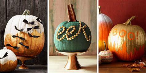 15 best pumpkin decorating ideas for halloween 2018 no carve pumpkin decorating ideas