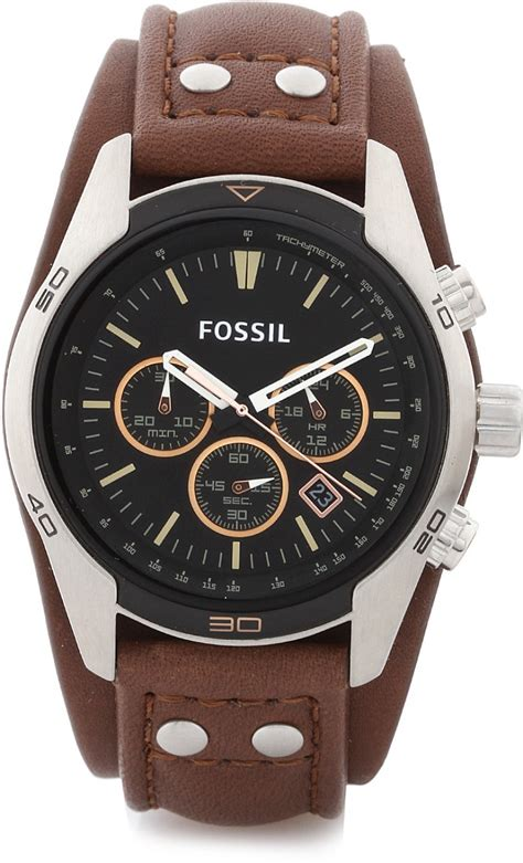 fossil ch2891 coachman analog for buy fossil