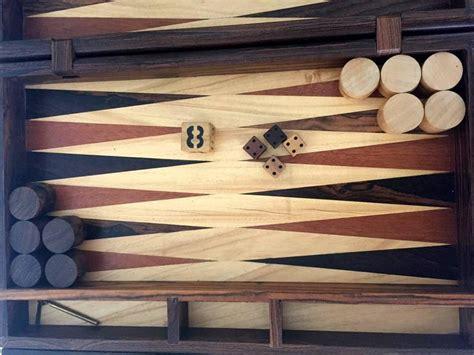 Handmade Backgammon - handmade backgammon set by don shoemaker at 1stdibs