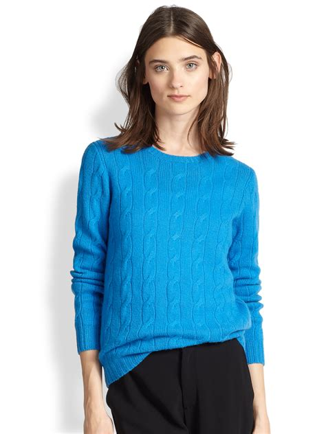 ralph cable knit sweater ralph black label cable knit sweater in