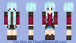 girl hairstyles minecraft ϻίɗ miku esque hairstyle minecraft skin
