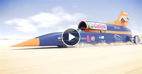 Das Schnellste Auto Der Welt 2015 Videos by Bloodhound Ssc 1600 Km H Das Schnellste Auto Der Welt