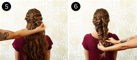 mermaid hairstyle tutorial step by step this messy mermaid braid is your new must try hairstyle