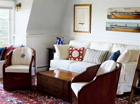 living and guest rooms kentucky lofted nautical guestroom landing design hgtv