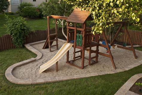 Backyard Playground Surface by 25 Best Ideas About Backyard Playground On