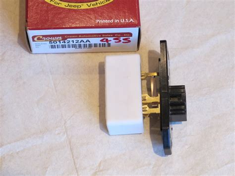 wj blower motor resistor blower motor resistor wj 5014212aa jeepey jeep parts spares and accessories