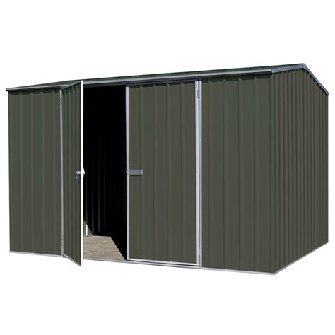 Absco Sheds Bunnings by Absco Sheds 3 0 X 1 52 X 1 95m Premier Door Shed
