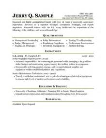 Sample Military Resume Strong Military Resume Examples Resume Examples 2017