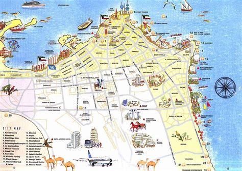 printable road map of bahrain kuwait plan de la ciudad mapas imprimidos de kuwait