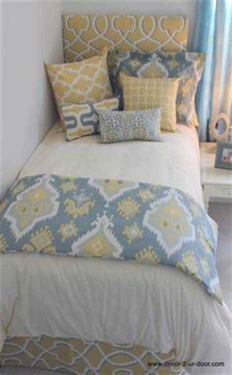 Yellow Walls Blue Bedding Details About Sporty Blue Teal Yellow Grey White Chevron