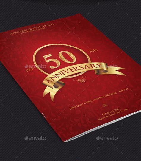 Church Anniversary Program Cover Template V2 Graphicstank Church Anniversary Program Template 2
