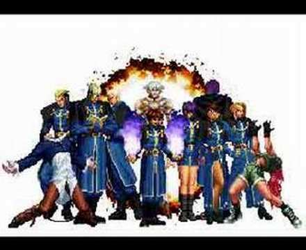 imagenes animadas king of fighters the king of fighters gif wave youtube