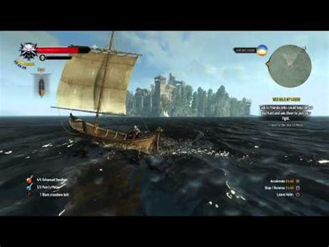 witcher 3 how to use boats the witcher 3 how to get to the boat from the last wi