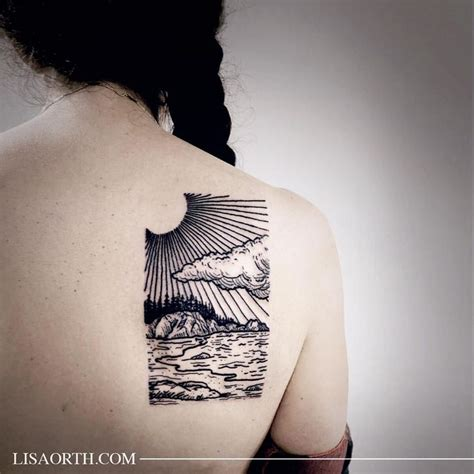 kalia tattoo instagram california coastal landscape for aliza artwork and photo