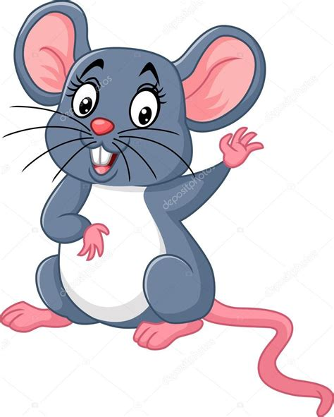 Imagenes Animadas Raton | dibujos animados del rat 243 n feliz vector de stock