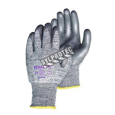 cut resistant gloves tenactiv cut resistant level 5 composite knit glove with pu coating