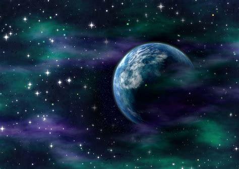 cosmos sci fi earth atmosphere moon plantets star sunlight illustration gratuite l espace science fiction cosmos