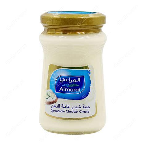 Almarai Spreadable Cheddar 500gram buy bread dairy products from grand xpress